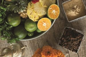 fruit-and-herbs-for-spa