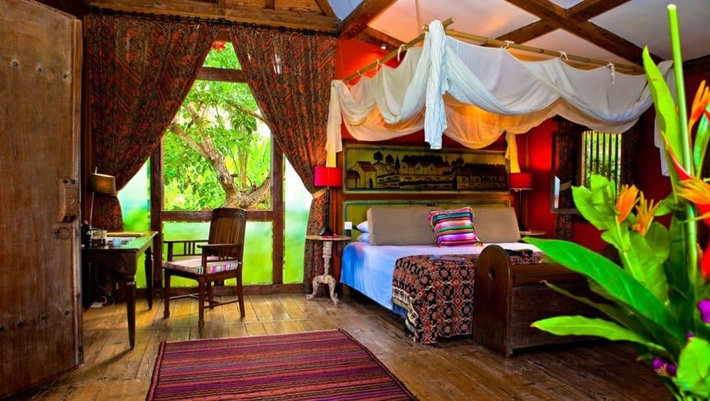 Desa Seni traditional accommodation